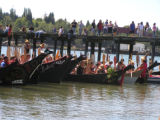Intertrbal Canoe Journey at Port Gamble, Gamble Bay, WA, 2007
