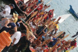 Intertribal Canoe Journey at Cowichan, Cowichan Bay, BC, 2008