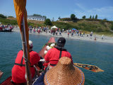 Intertribal Canoe Journey at Port Townsend, Fort Worden State Park, WA ,2009