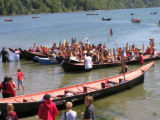 Intertribal Canoe Journey at Lummi, Gooseberry Point, WA, 2007