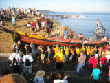 Intertribal Canoe Jounrney at Suquamish, Port Madison, WA, 2009